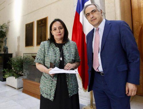 Senadores Aravena y Chahuán piden urgencia a proyecto que sanciona los incendios en lugares de culto religioso