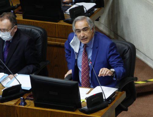 Senador Chahuán calificó de insuficiente Ley de Rentas Regionales ingresada por el Gobierno